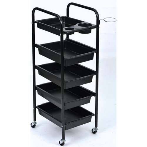 portable beauty furniture facial hair salon trolley cart for sale