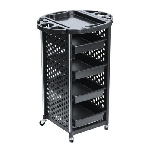 best salon rolling trolley / all purpose beauty salon plastic carts with drawer