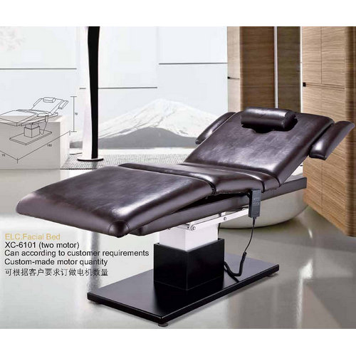 Newest design salon facial massage table/ massage bed for beauty salon