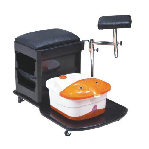 Cheap Simple foot spa pedicure chair / Nail Salon Massage Chairs