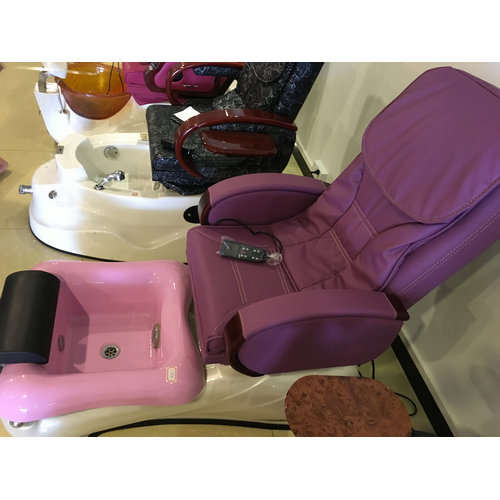 Made in China Foot Spa Furniture Manicure Pedicure Spa Chair,Electric Massage Pedicure Chair for Sale