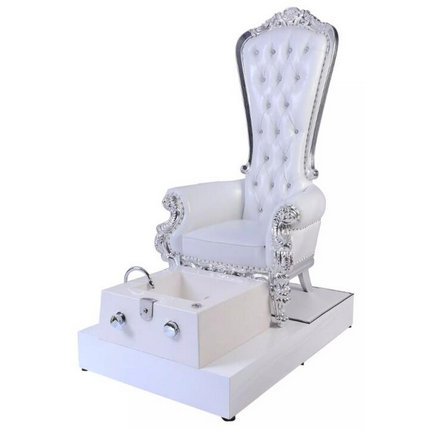 luxury beauty nail care equipments princess queen spa pedicure chairs