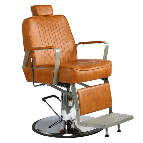 High Back Classic style reclining hair cutting seat antique heavy duty hydraulic barber chairs