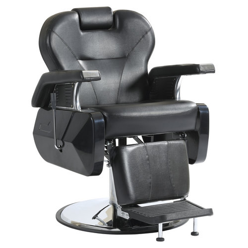 Wholesale salon equipment hydraulic hairdressing seating reclining vintage man barber chair