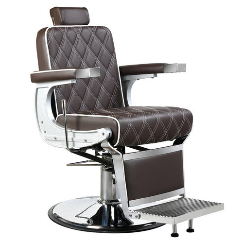 High back ergonomic hydraulic classic parlor barber chairs recline hairdressing chair styling furniture
