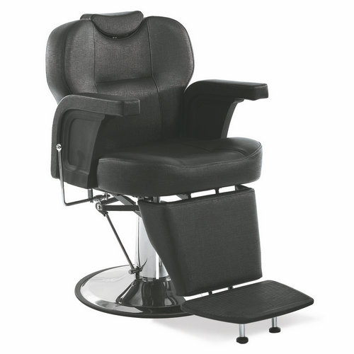 Low price ergonomic all purpose hydraulic black recline barber chair