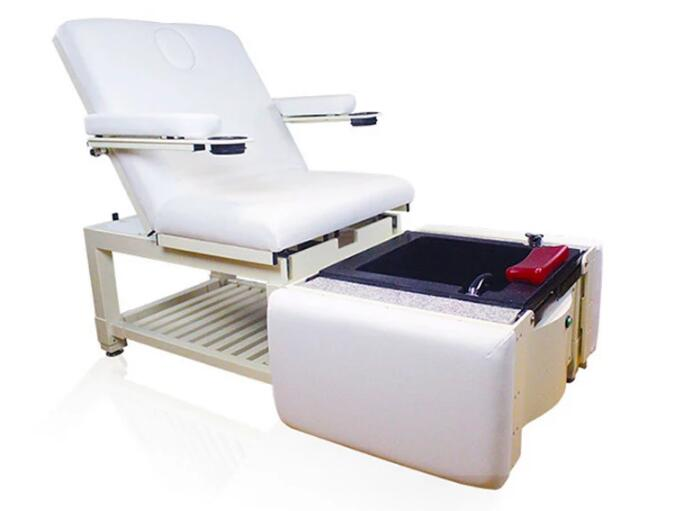 Luxury Spa Foot Massage Station Pedicure Bowl Chairs