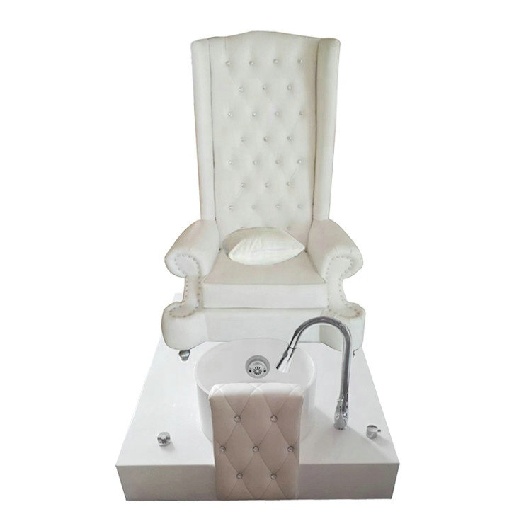 Nail furniture throne pedicure spa chairs pedicure bowl station